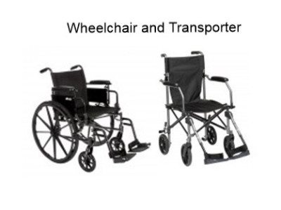 transporter wheelchair rental sales