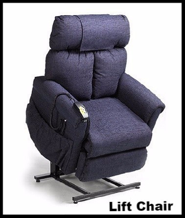 Lift chair recliner for easy lifting for elderly from sitting position