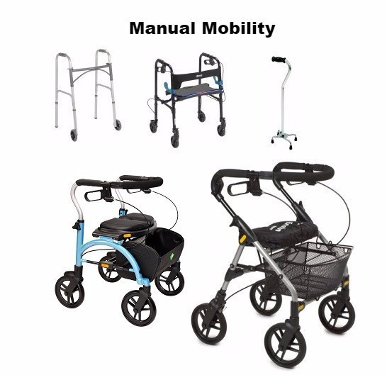 aadl manual walkers equipment walker for elderly people