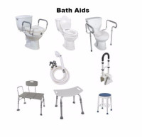 Bath aids toilet aids raised toilet seat