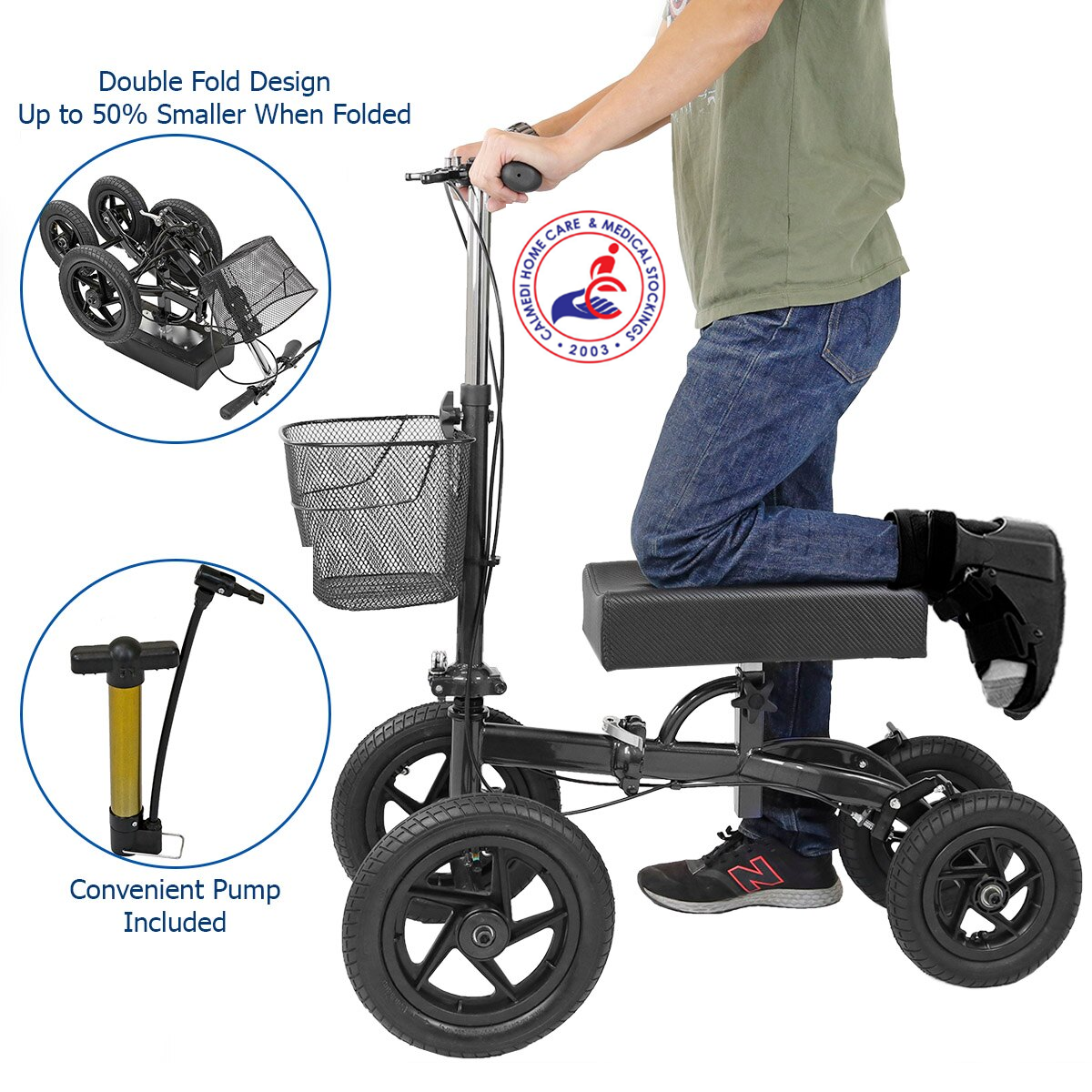 knee walker knee scooter all terrain