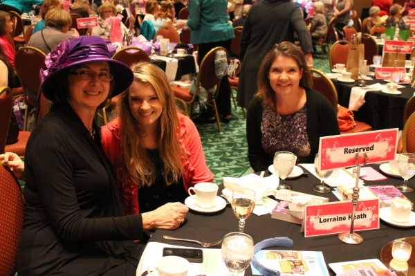 All tables hosted by romance authors