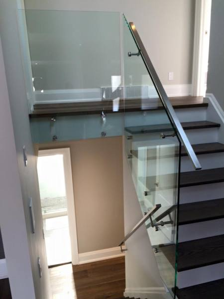 GTA glass railing