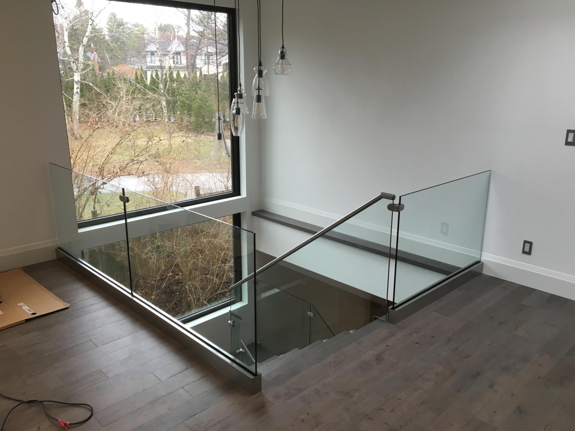 Glass Railing base shoe