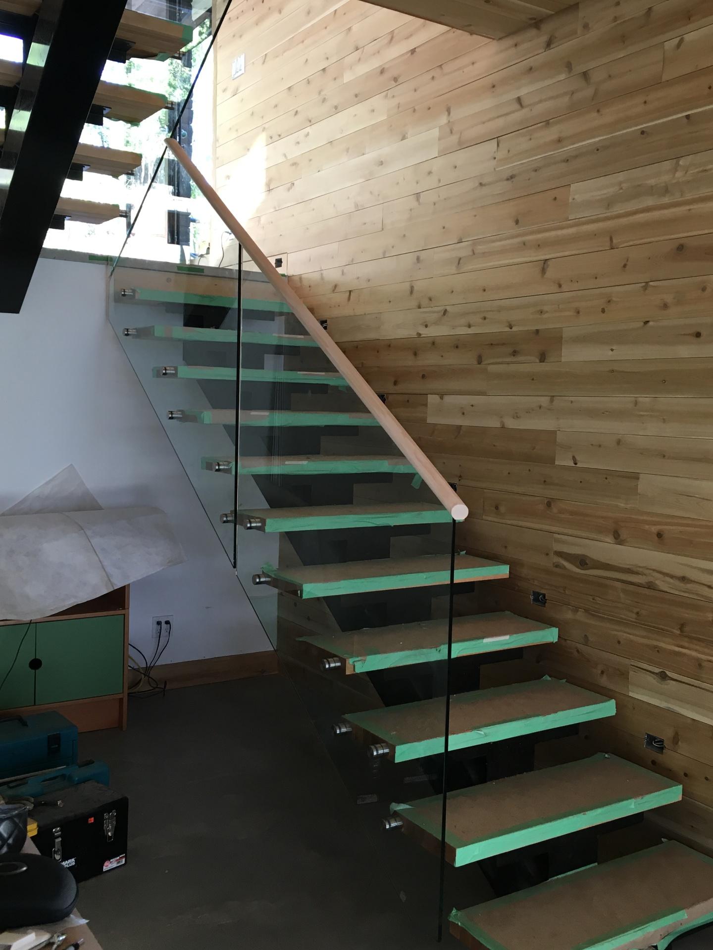 cottage glass railings