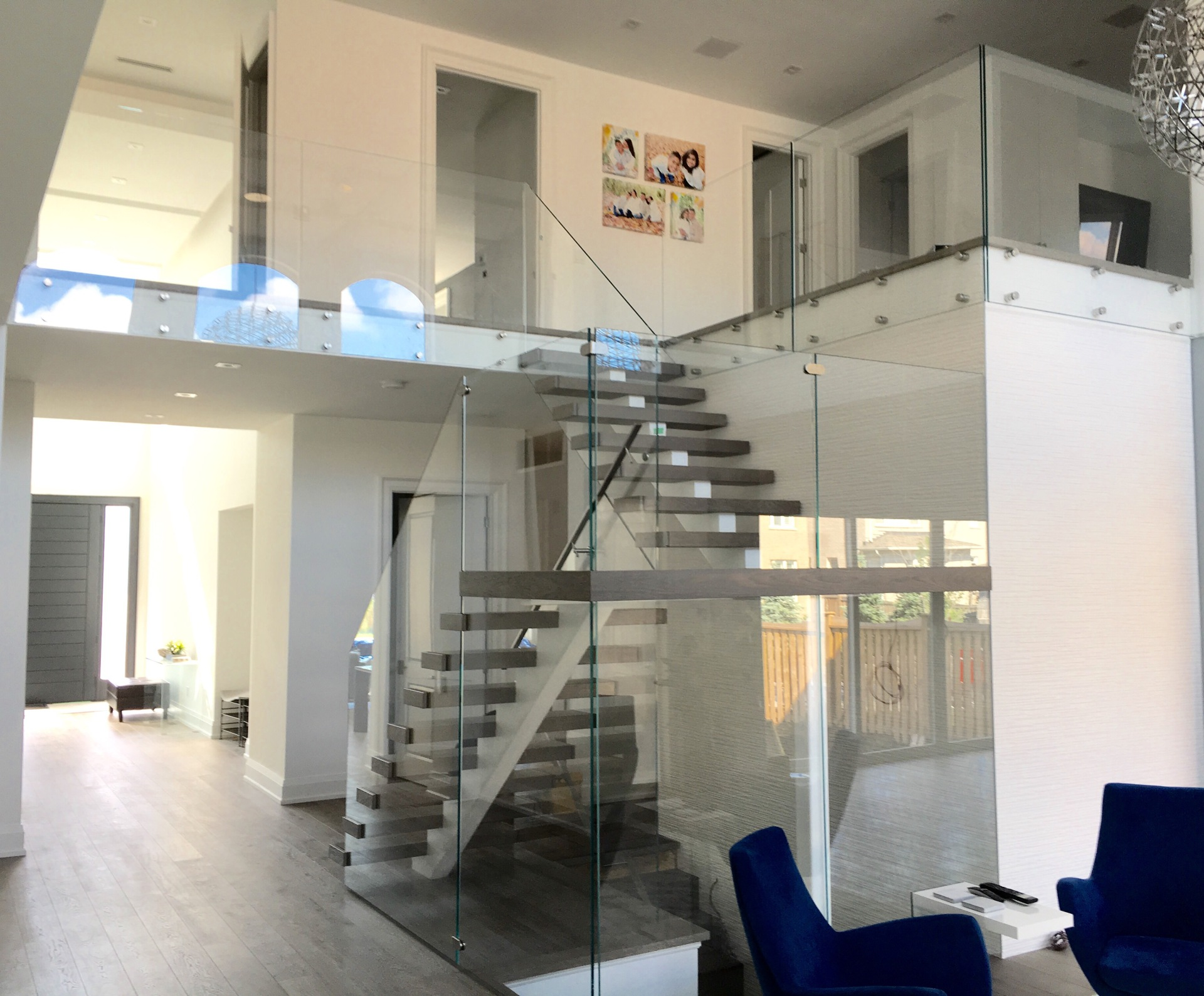 Starphire Glass Railings
