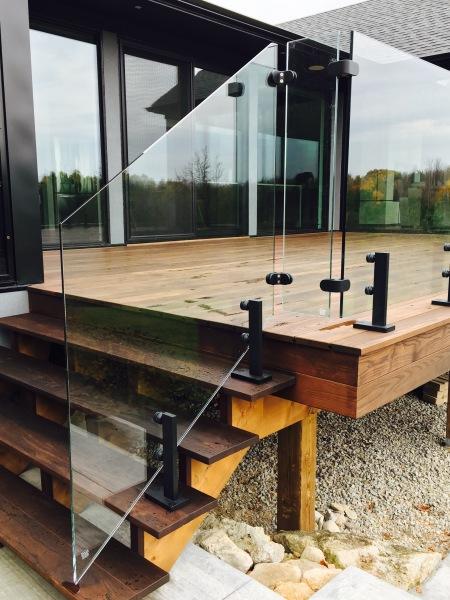 cottage glass railing