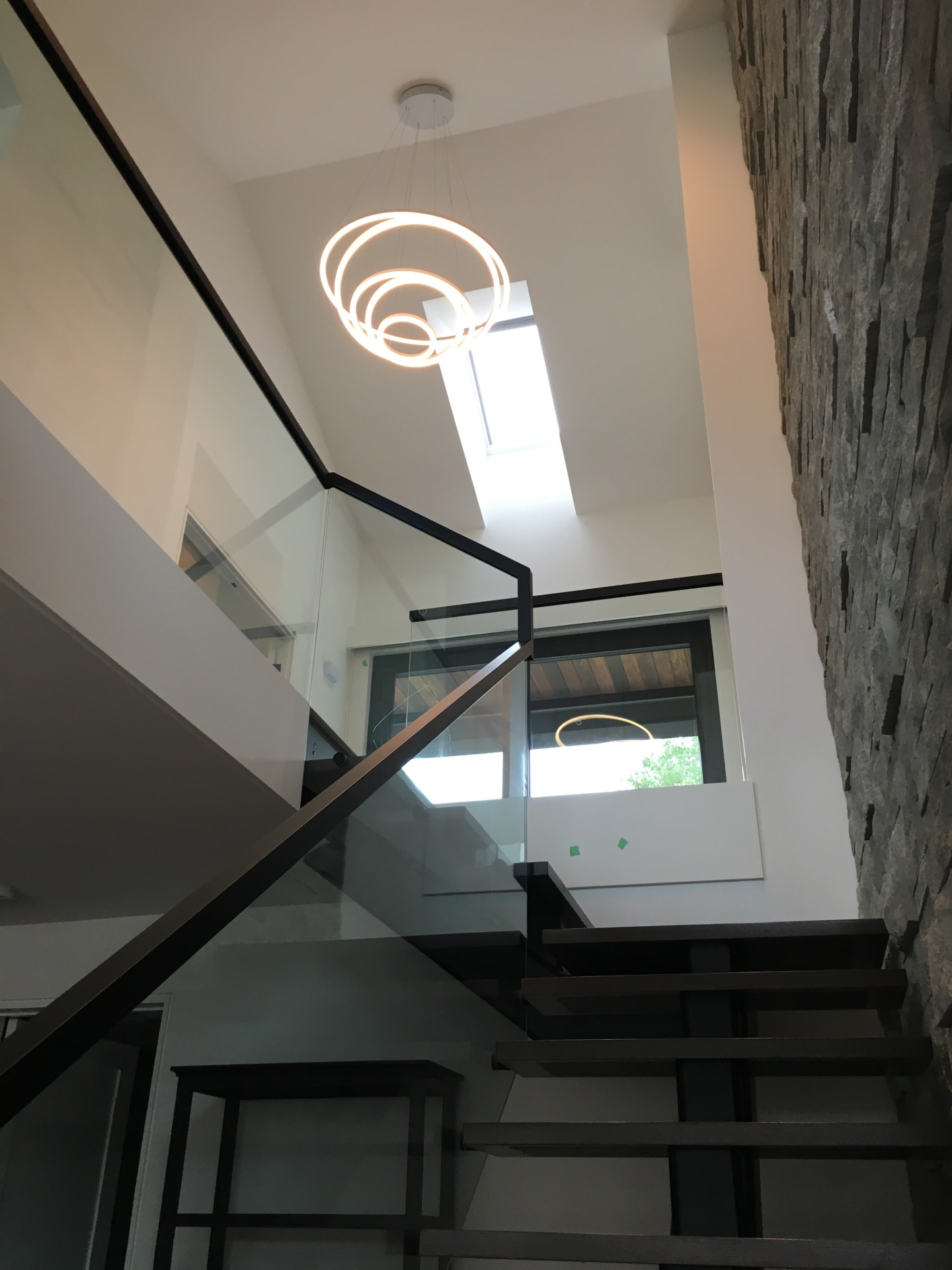 facia glass railing