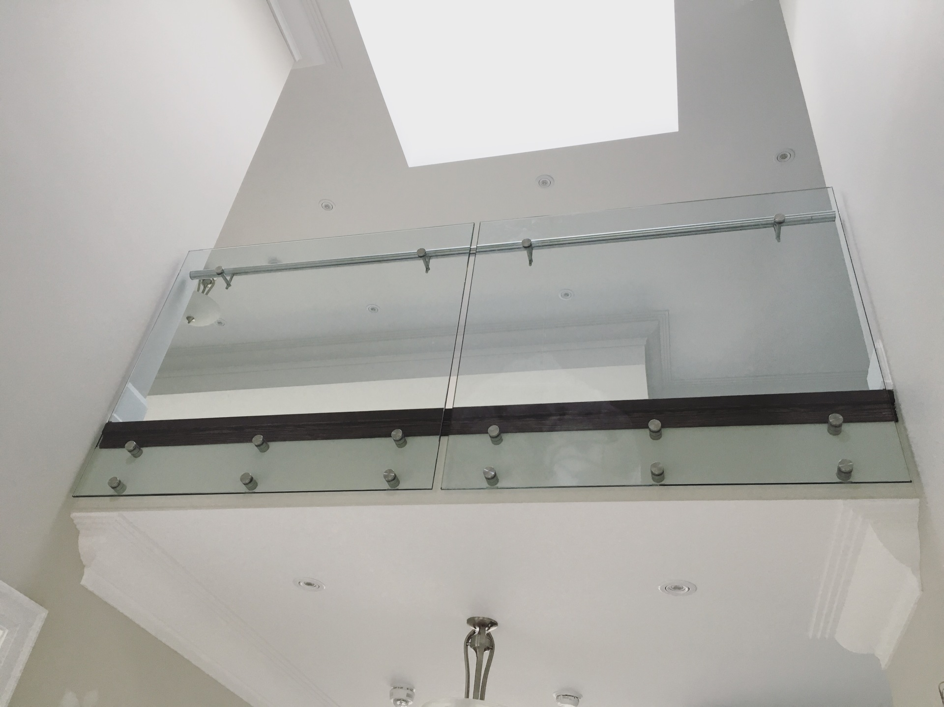 glass railings vaughn