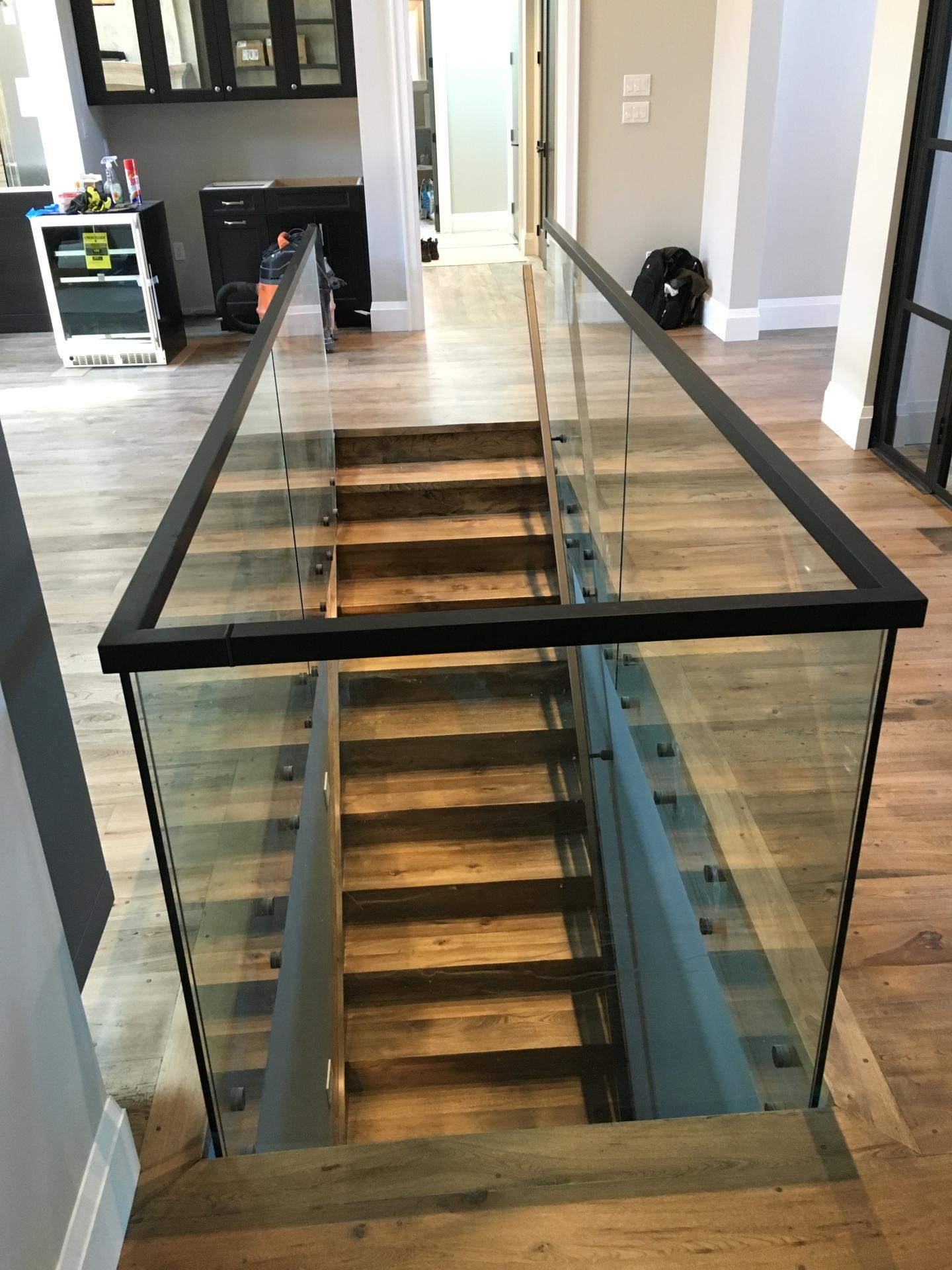 glass rail