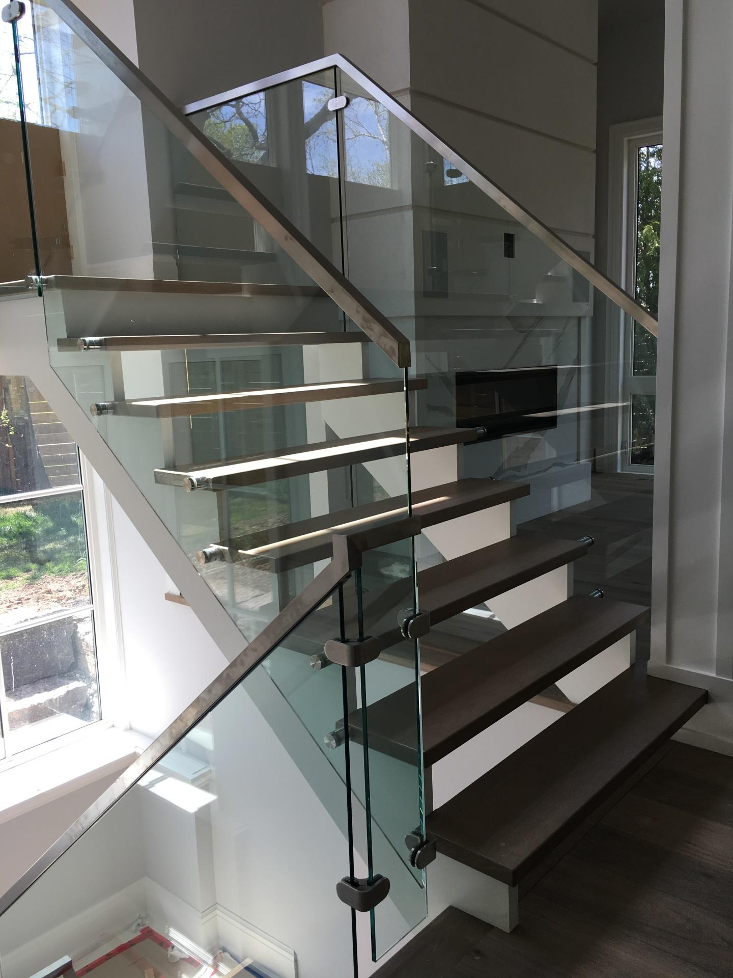 continous handrail