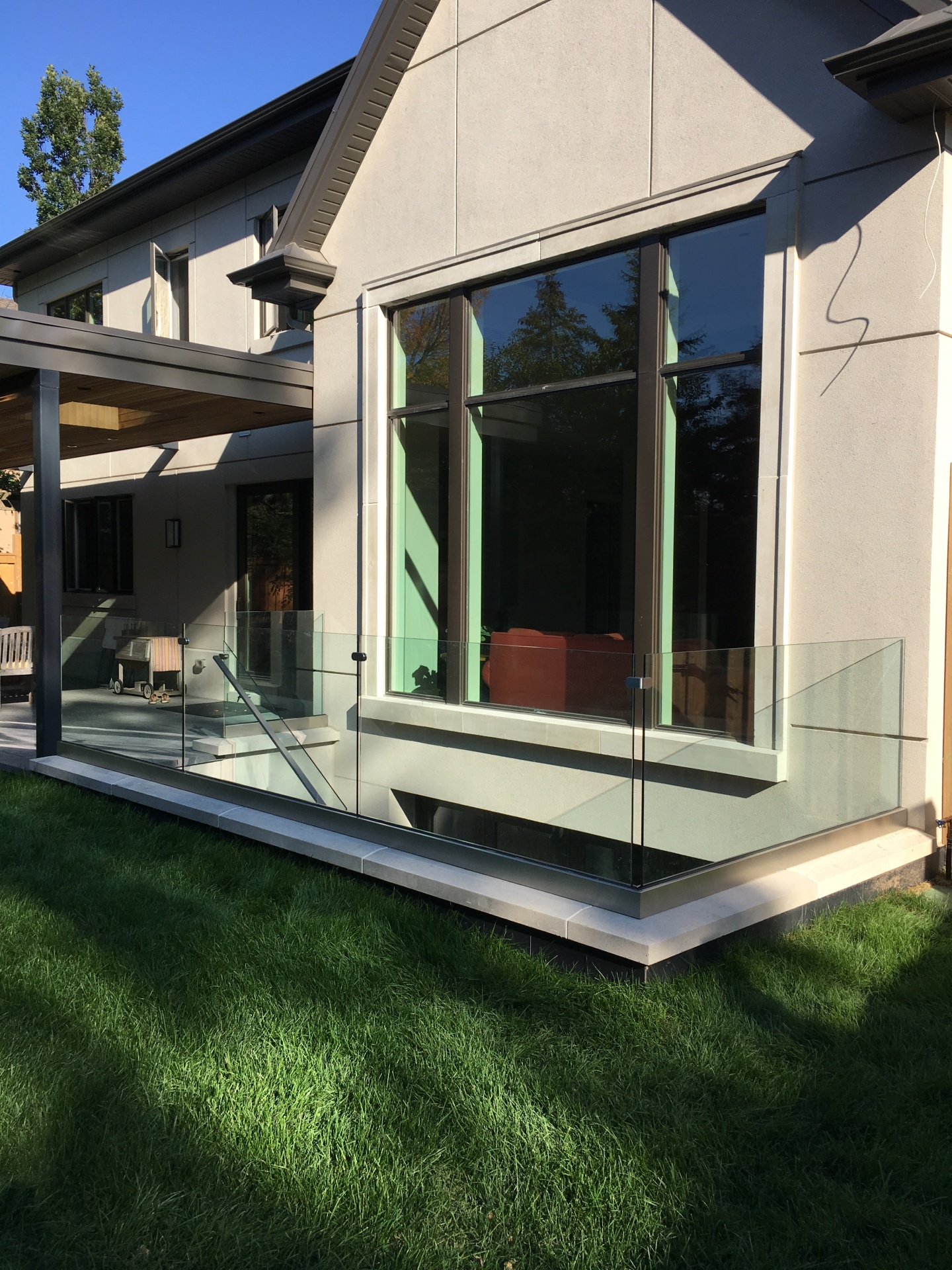 exterior glass guard