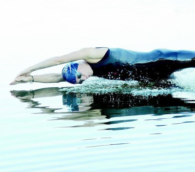 """""""Taking the Plunge"""", Getting Over the Fear of Open Water Swimming"""