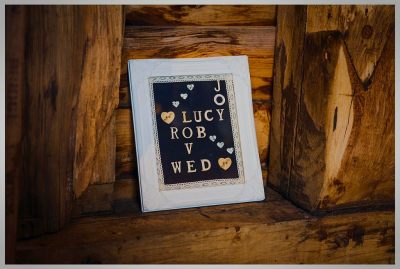 Personalised photo frame £15