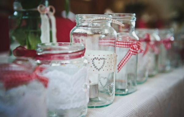 Jam Jars Decorated in your  unique style
