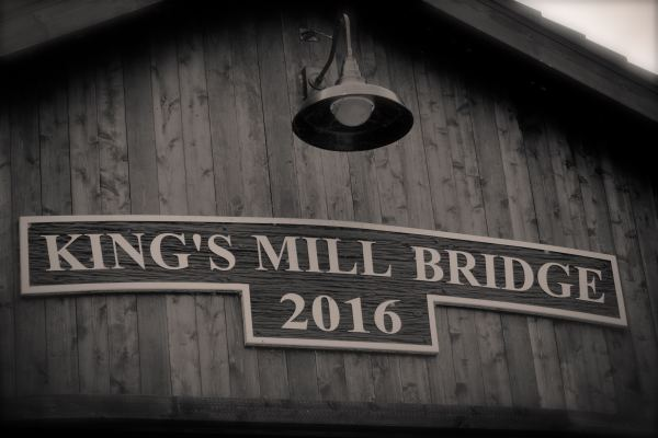 Old Mills Covered Bridge Detail