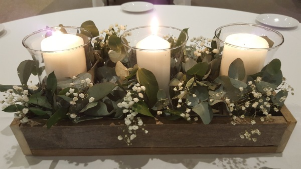 Medium Curved Glass Votives