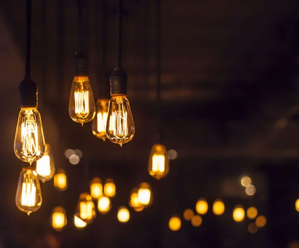 Vindustrial Hanging Light Bulbs