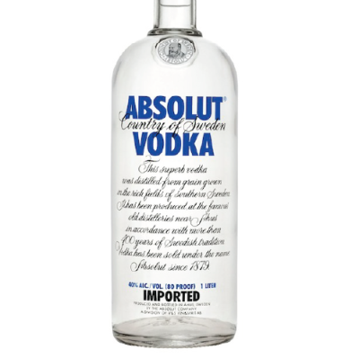 Absolut Blue (750ml)
