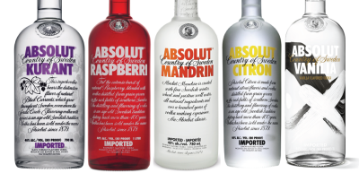 Absolut Flavored (750ml)