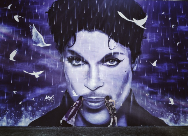 Prince Mural