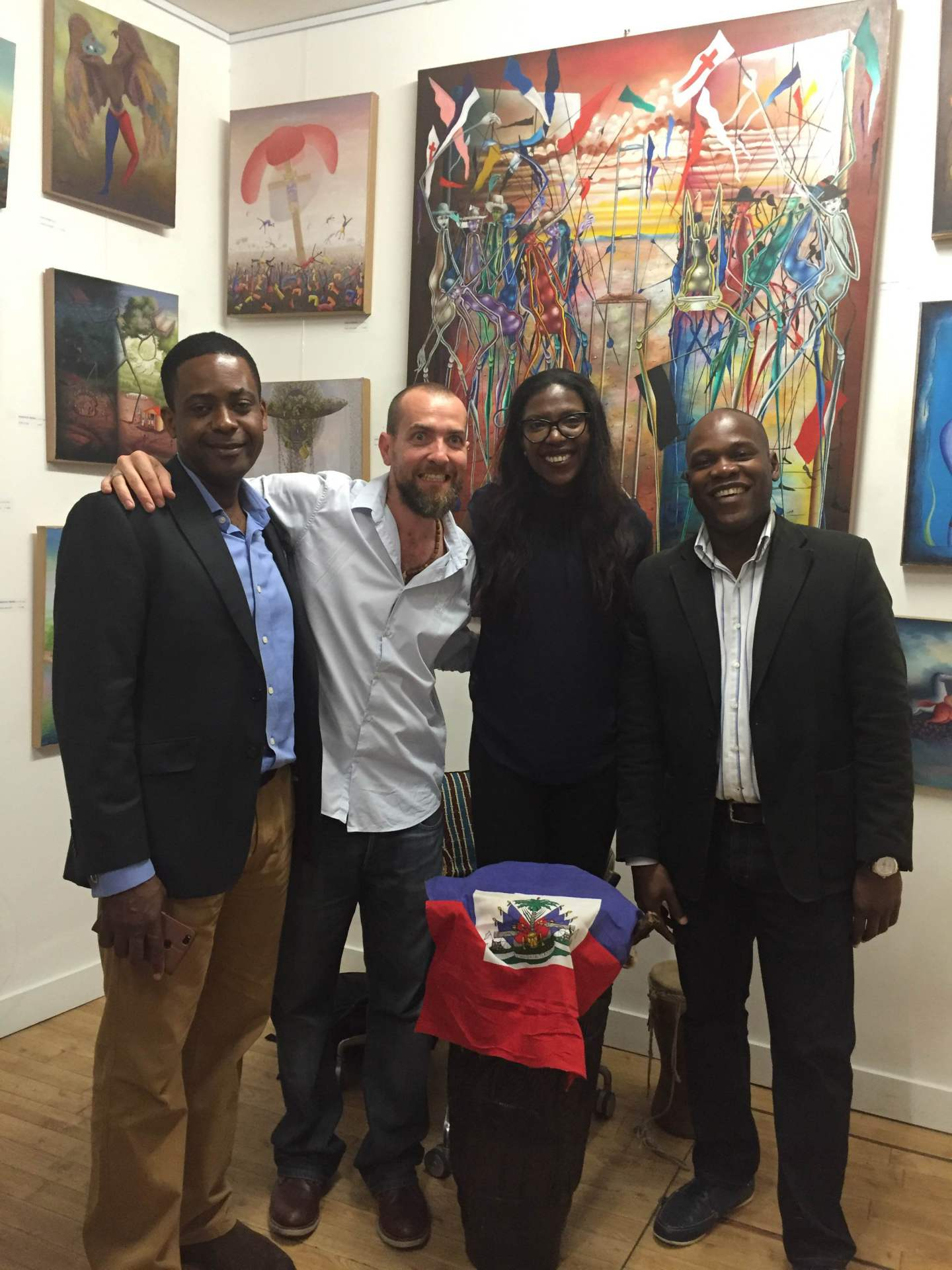 Haitian Arts exposition in London (2017) by A. Latour