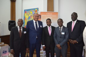 With our main guest speaker Fritz Duroseau, Board Member of Bank of the Repuplic of Haiti (BRH)