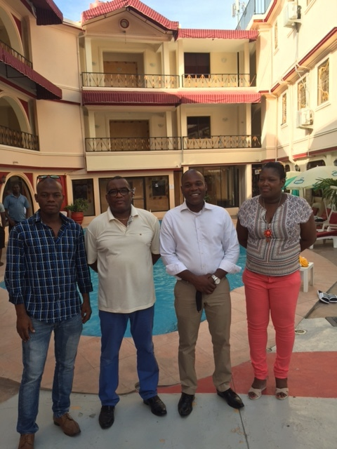 Visiting our member, Hotel Luxe Confort, Haiti