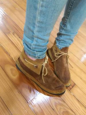Vintage moccasins