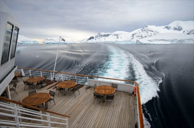 Crystal Cruises' new luxury vessel will embark on a trip through the Bering Strait and Northwest pas