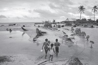 Sea rising, exit plan confronts islanders