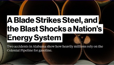 A Blade Strikes Steel, and the Blast Shocks a Nation's Energy System