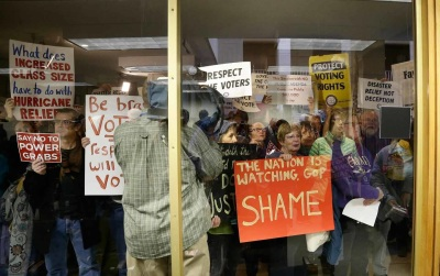 North Carolina's Legislative Coup Shows What Voter Suppression Will Look Like Under Trump