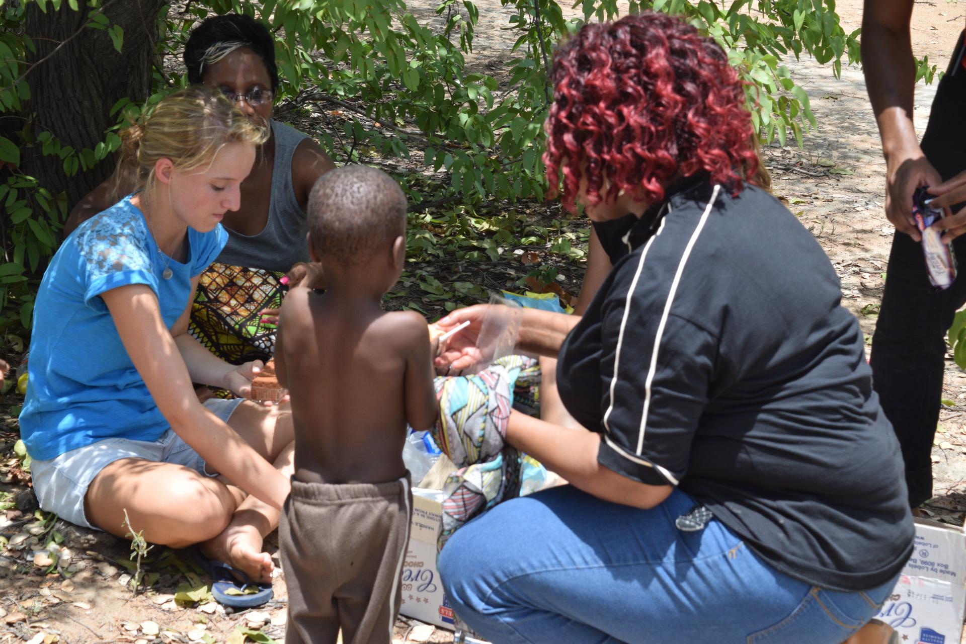Mgodimasili in Tsholotsho Outreach