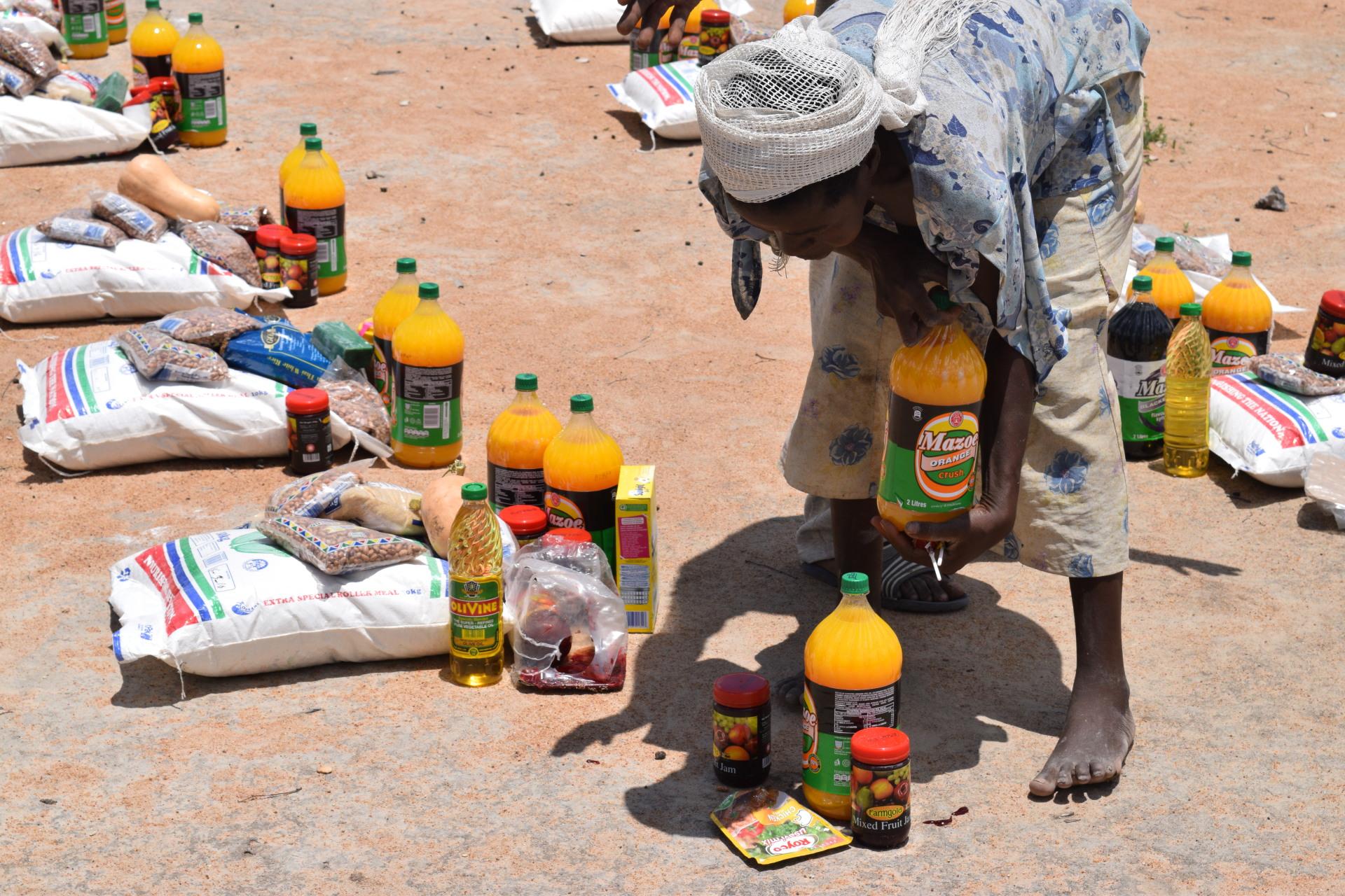 Mgodimasili Outreach Tsholotsho Zimbabwe
