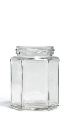 9oz Hexagon Jar