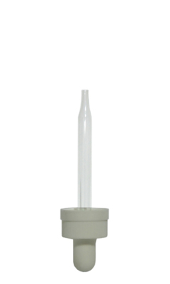 child resistant dropper - 18mm neck size - white bulb - available in all pipette sizes