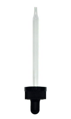 child resistant dropper - 20mm neck size - 108mm pipette
