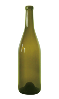 W137 Burgundy glass wine bottle - 750ml