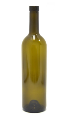 750ml Bordeaux bottle with bar top neck finish