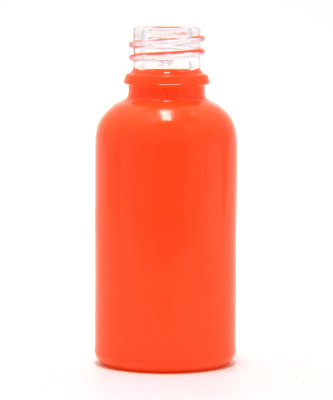 Orange Coated 30ml eliquid bottle