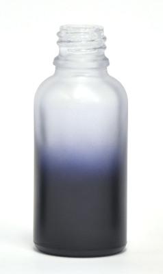 Purple Gradation coated 30ml eliquid bottle