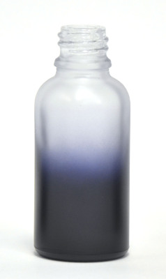 Purple Gradation coated 30ml eliquid bottle