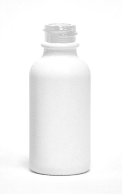 White Ceramic e-liquid bottle 30ml