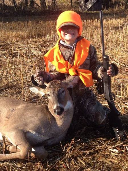 2015 - Youth Hunt 1st Buck
