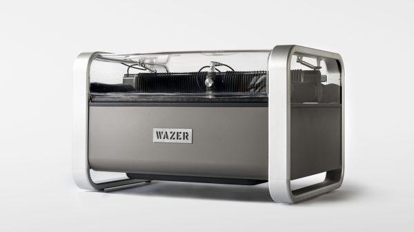 The First Desktop Waterjet Cutter