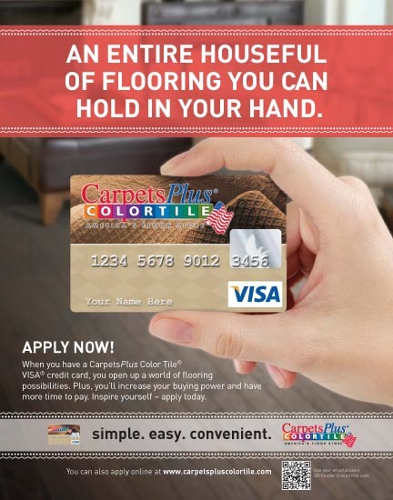 Carpet's Plus Card