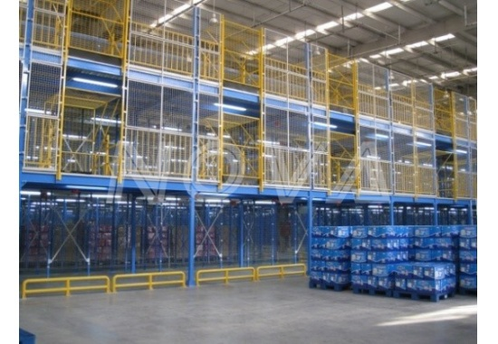 Amazon logistics Center Mezzanine project