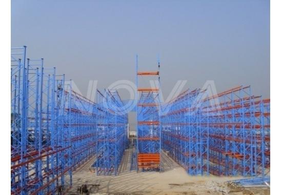 J.V. Gokal & Co., Pvt. Ltd racking supported building Project
