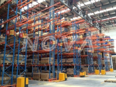 E- business Logistics center case 1—SuNing logistics